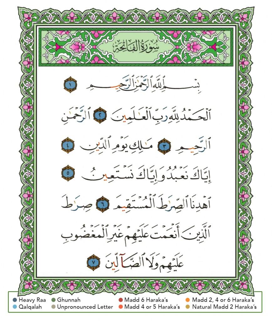 1 Fatiha
